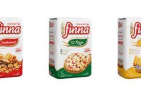 Farinha Finna lança embalagens de 5 kg e mixes para o mercado de food service