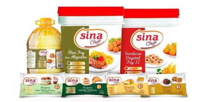 Sina Cheff está presente na indústria e no mercado de Food Service com diversos produtos