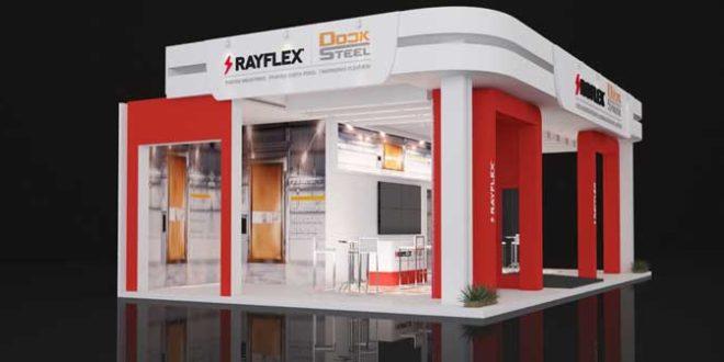 Rayflex leva portas autorreparáveis com vedação total à Fispal Tecnologia