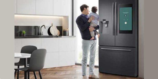 Samsung apresenta refrigerador que permite conferir alimentos direto do smartphone