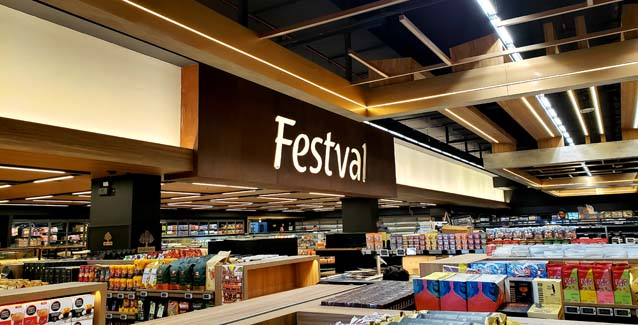 Festval inaugura em Curitiba conceito inédito de mercado em shopping
