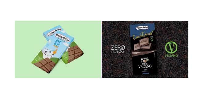 Cacautello lança opções de chocolate zero lactose e vegano
