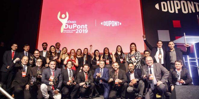 Conheça os vencedores do Prêmio DuPont de Saúde e Segurança do Trabalhador 2019