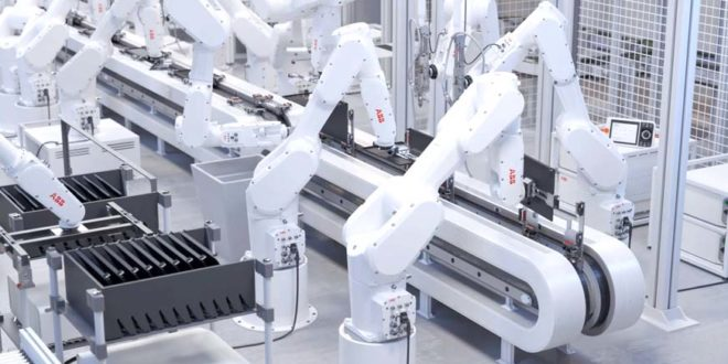 ABB lança novo robô IRB 1300 para espaços confinados