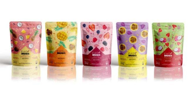 Easy Drinks inova em design e qualidade de impressão com embalagens produzidas pela Camargo Embalagens