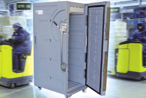 Unipac apresenta Contêiner Térmico para produtos resfriados e congelados