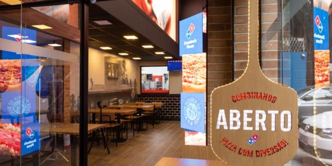 Domino's Pizza inaugura primeira loja conceito em São Paulo