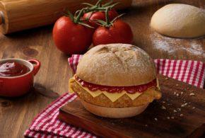 Bob's lança sanduíche Artesanal Parmegiana